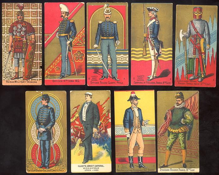 selling Kinney Bros. N224 Kinney/Sweet Caporal Military Uniforms