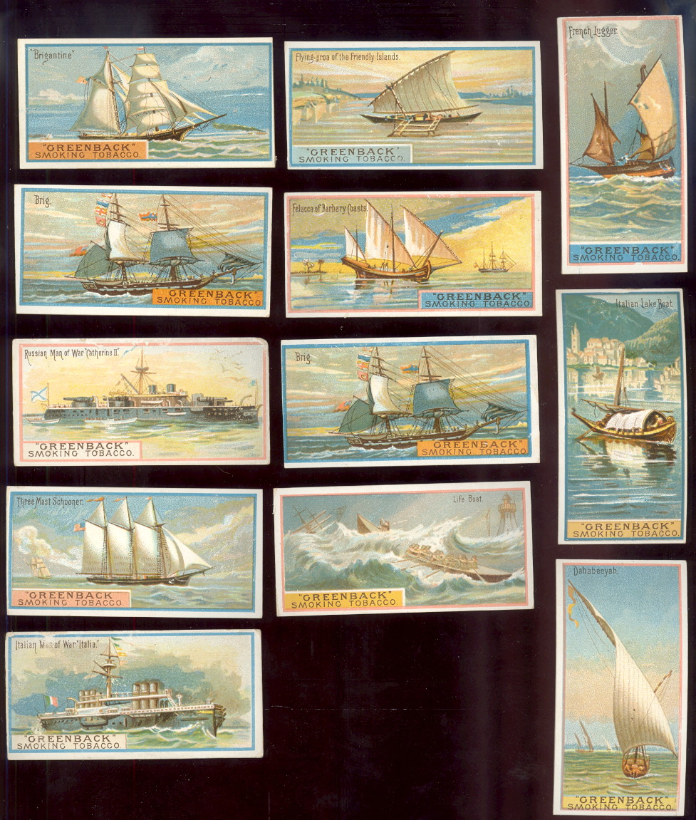 buying old baseball cards and N408 typical ships, Marburgs greenback smoking tobacco