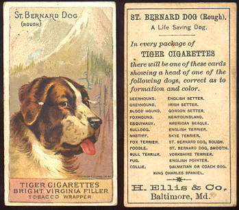 buying old baseball cards and N375 Breeds of Dogs