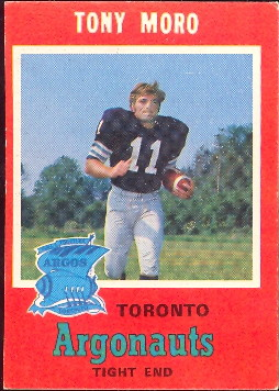 1971 Topps CFL Football Cards
