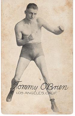 exhibit boxing Cards.