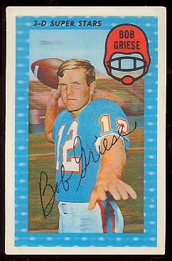 1971 Kelloggs Football Cards Buy Football Cards Buy