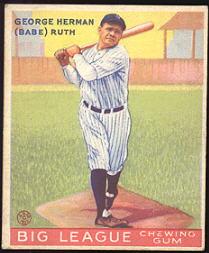1933 Goudey Baseball Cards Buy Baseball Cards Buy Vintage