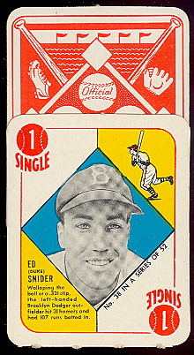 1951 topps red back