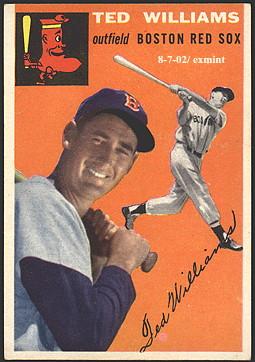 The Boston Red Sox Baseball Card Page Buy Baseball Cards Buy