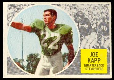6b081d7c9ce Buy 1960 Topps CFL Football cards
