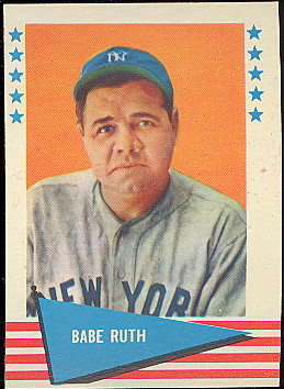 Lowest Prices Best Selection Of 1961 Fleer Baseball Cards