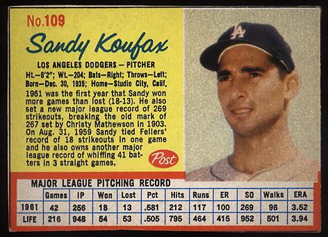 1962 Post Cereal Baseball Cards Buy Baseball Cards Buy Vintage