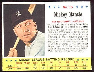 1963 Jello Baseball Cards Buy Baseball Cards Buy Vintage