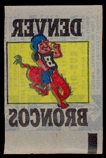1965 topps football magic ruboffs