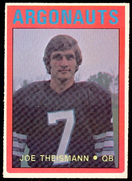 1972 Topps CFL Football Cards