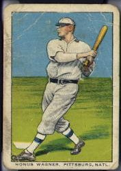 1911-14 brunners bread honus wagner baseball card