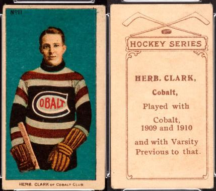 1910-1911 Imperial Tobacco (C56) hockey card