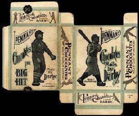 1910 E271 Darby Chocolates baseball card