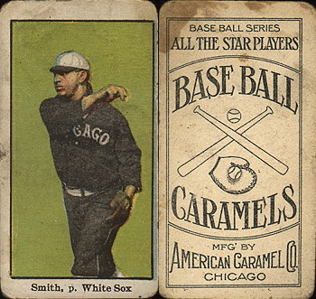 1910 American Caramel White Sox/Cubs E90-3