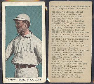 1911 E94 George Close Candy baseball card