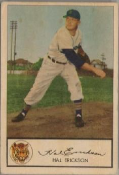 1953 Glendale Meats baseball card