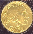 Indian head buffalo gold coin