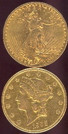 $20 U.S. Gold Coins