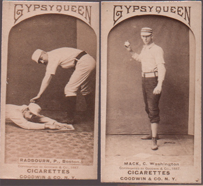 1887 gypsy queen old judge baseball cards