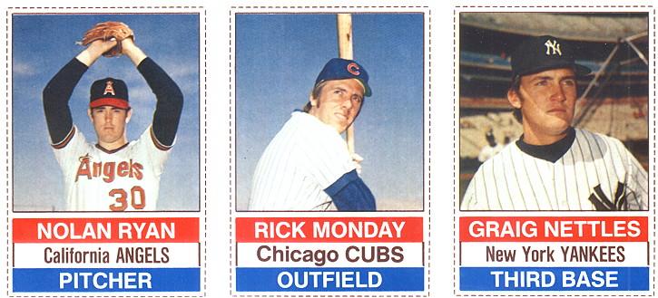 1976 Hostess Baseball Cards 1976 Hostess Baseball Panels