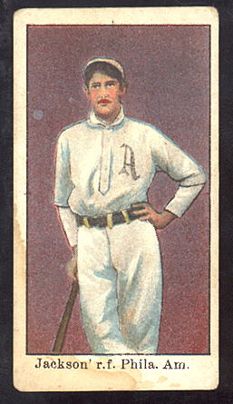 Joe Jackson Rookie Card Buy Baseball Cards Buy Vintage