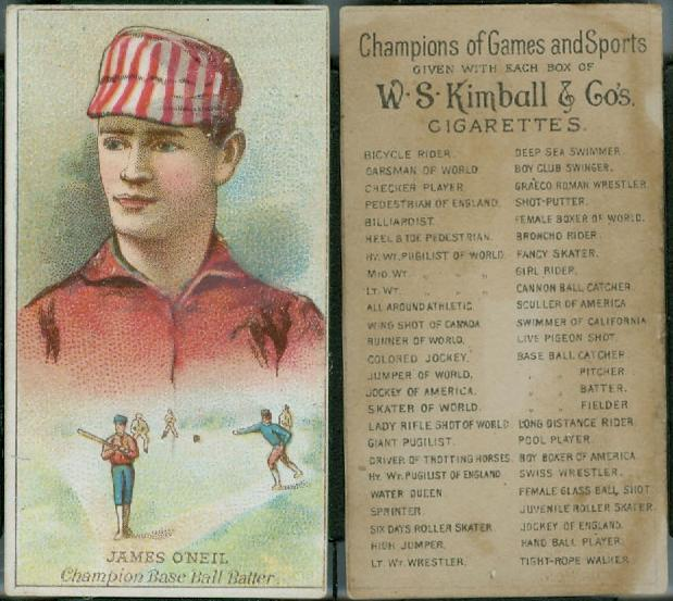 1887 W.S. Kimball Champions (N184)
