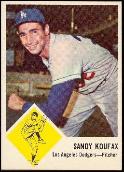Buy Sandy Koufax Baseball Cards Sell Sandy Koufax Baseball Cards