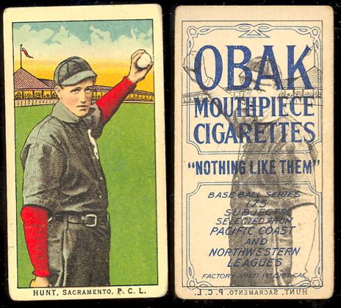 1910 Obak 175 Subjects T212 Buy Baseball Cards Buy Vintage