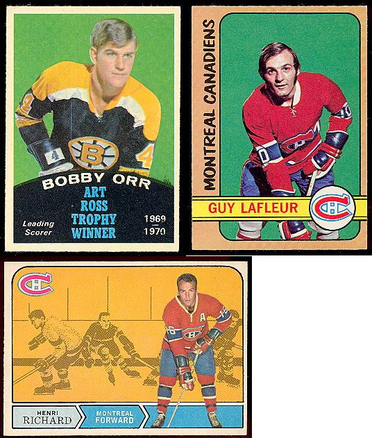 O-Pee-Chee Hockey cards