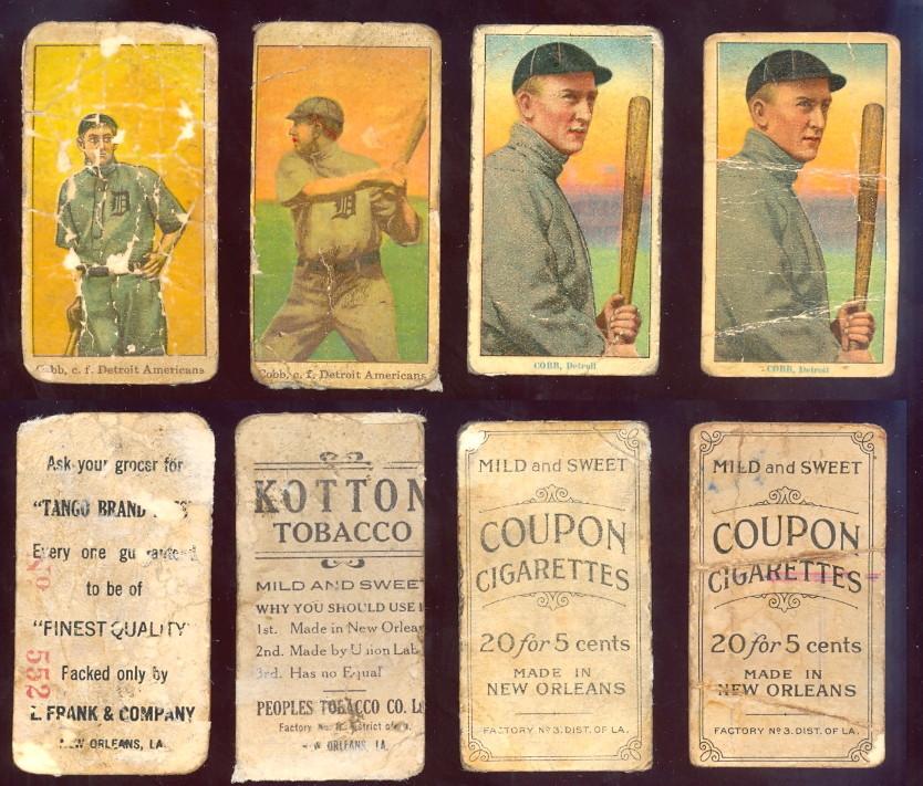 Ty Cobb Baseball Card Page Buy Baseball Cards Buy Vintage