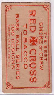 1912 T215 Red Cross Tobacco Baseball cards