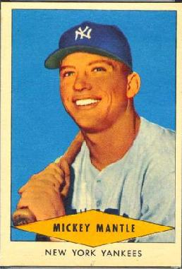 1954 Red Heart dog food baseball card