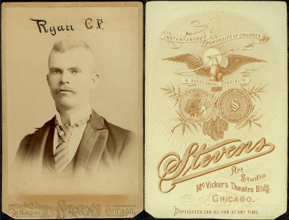 1890 Stevens Chicago Pirates Cabinets