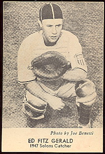 1947 Sunbeam Bread Pacific Coast League Sacramento Salons Baseball