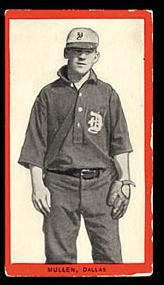 1910 Old Mill Cigarettes baseball card