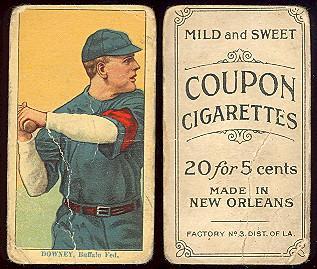 1910-1919 Coupon Cigarettes baseball card
