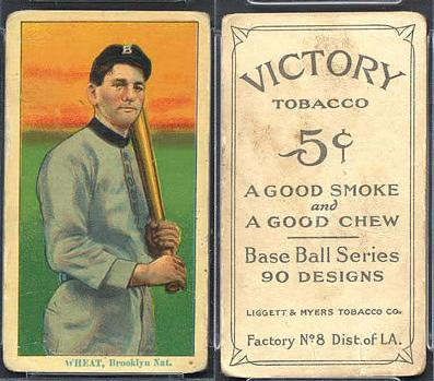 1915 Vicotry Tobacco (T214) Baseball cards