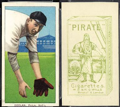 1912 T215 Pirate Cigarettes Baseball cards