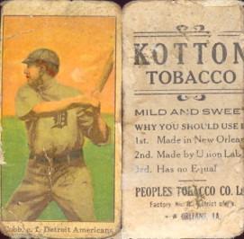 1911-1916 Kotton Tobacco (T216) Baseball cards