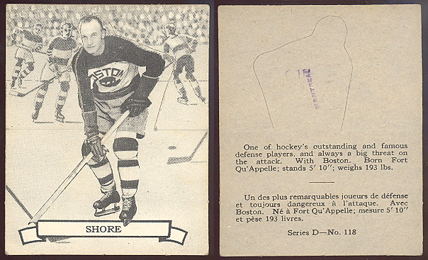 1936-1937 O-Pee-Chee hockey card