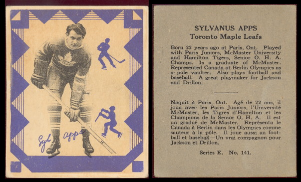 1937-1938 O-Pee-Chee hockey card