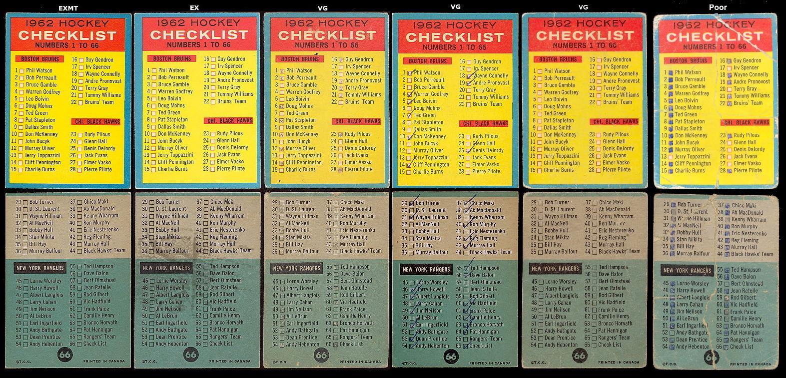 1962-63 Topps Hockey, Buy hockey Cards | Buy Vintage ...