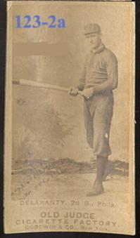 1887 old judge example, ed delahanty a desirable
